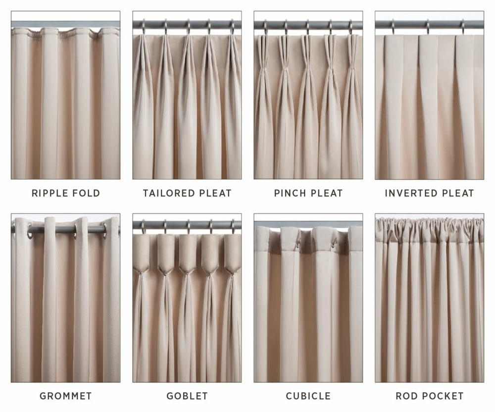 Image Result For Fullness Pleat Spacing Details Pinterest Pertaining To Curtains Pleated Style (Image 11 of 15)