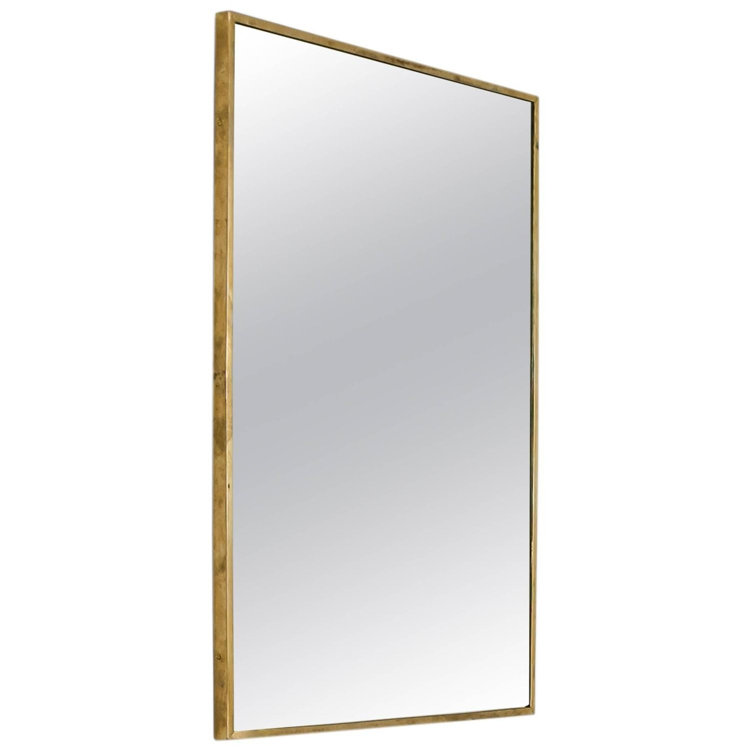 Imposing Design Large Rectangular Wall Mirror Chic Ideas Large With Brass Mirrors For Sale (Image 5 of 15)