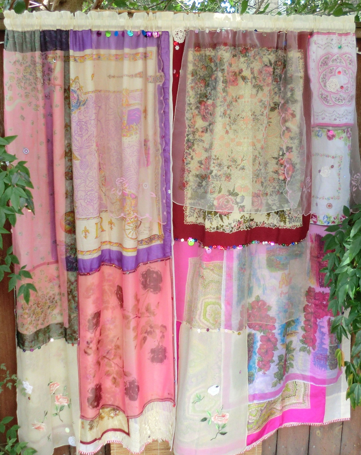 In Your Dreams Handmade Hippie Curtains With Hand Made Curtains (Image 9 of 15)