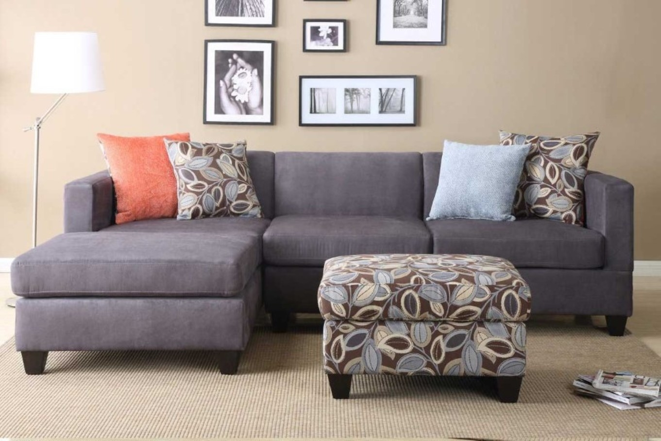 Incredible Microfiber Sleeper Sofa Top Home Design Ideas With Grey Throughout 3 Piece Sectional Sleeper Sofa (Image 11 of 15)