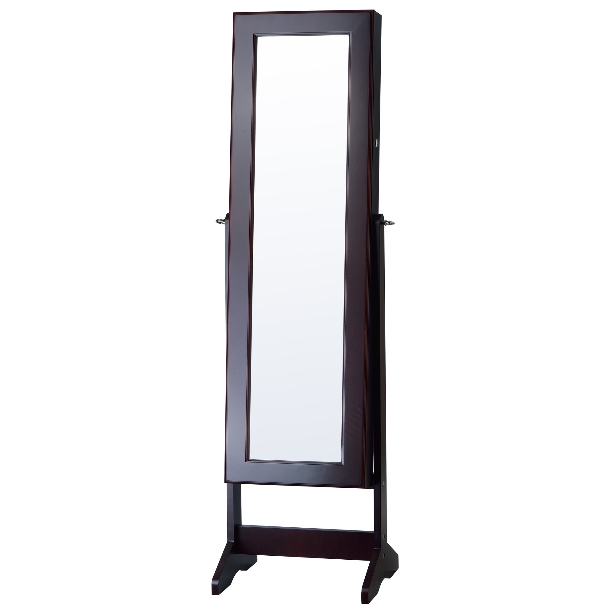 Innerspace Luxury Products Cheval Jewelry Armoire With Mirror Intended For Mirror Cheval (Image 9 of 15)