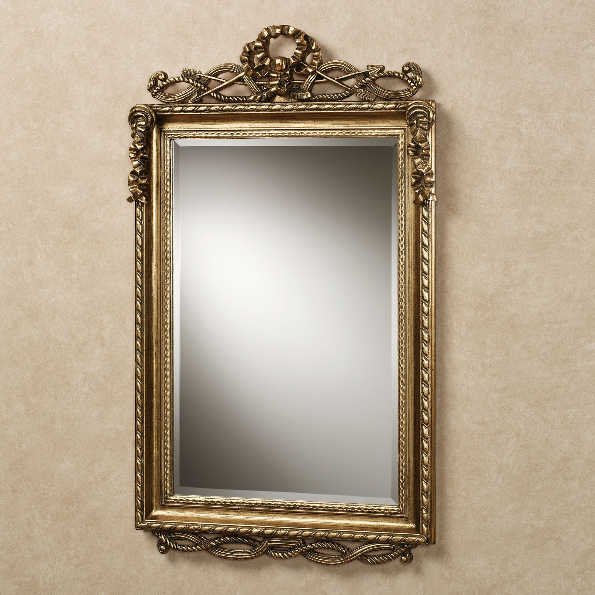 Innovative Ideas Vintage Wall Mirrors Incredible Design Gold Regarding Gold Antique Mirrors (Photo 7 of 15)