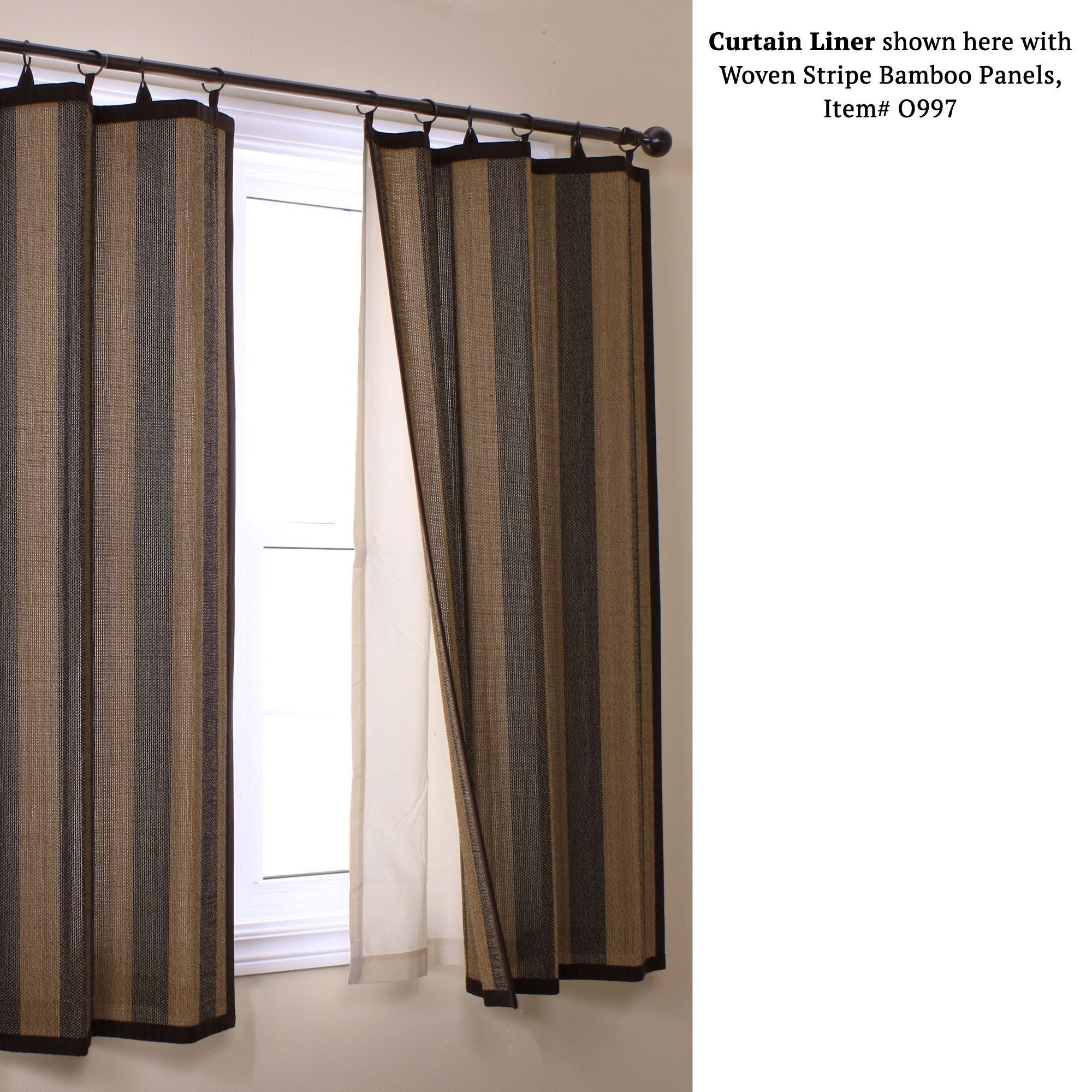 Insulating Blackout Curtain Panel Liner With Regard To Curtains With Blackout Lining (Image 8 of 15)