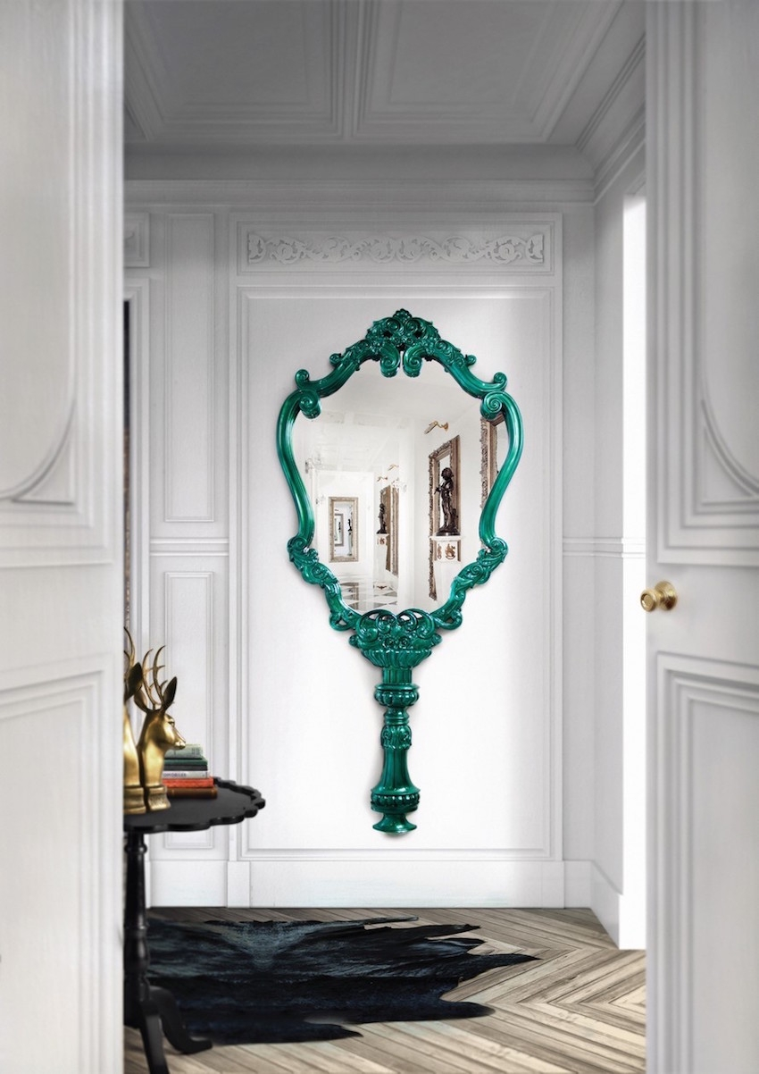 unique wall mirrors. Interesting Decoration Unique Wall Mirrors Beautiful Design The Regarding (Image 8 Of N