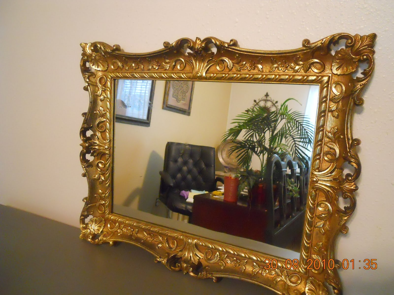 Interior Decoration Beautiful Gold Ornate Mirrors For Floor With Regard To Ornate Mirrors (View 13 of 15)