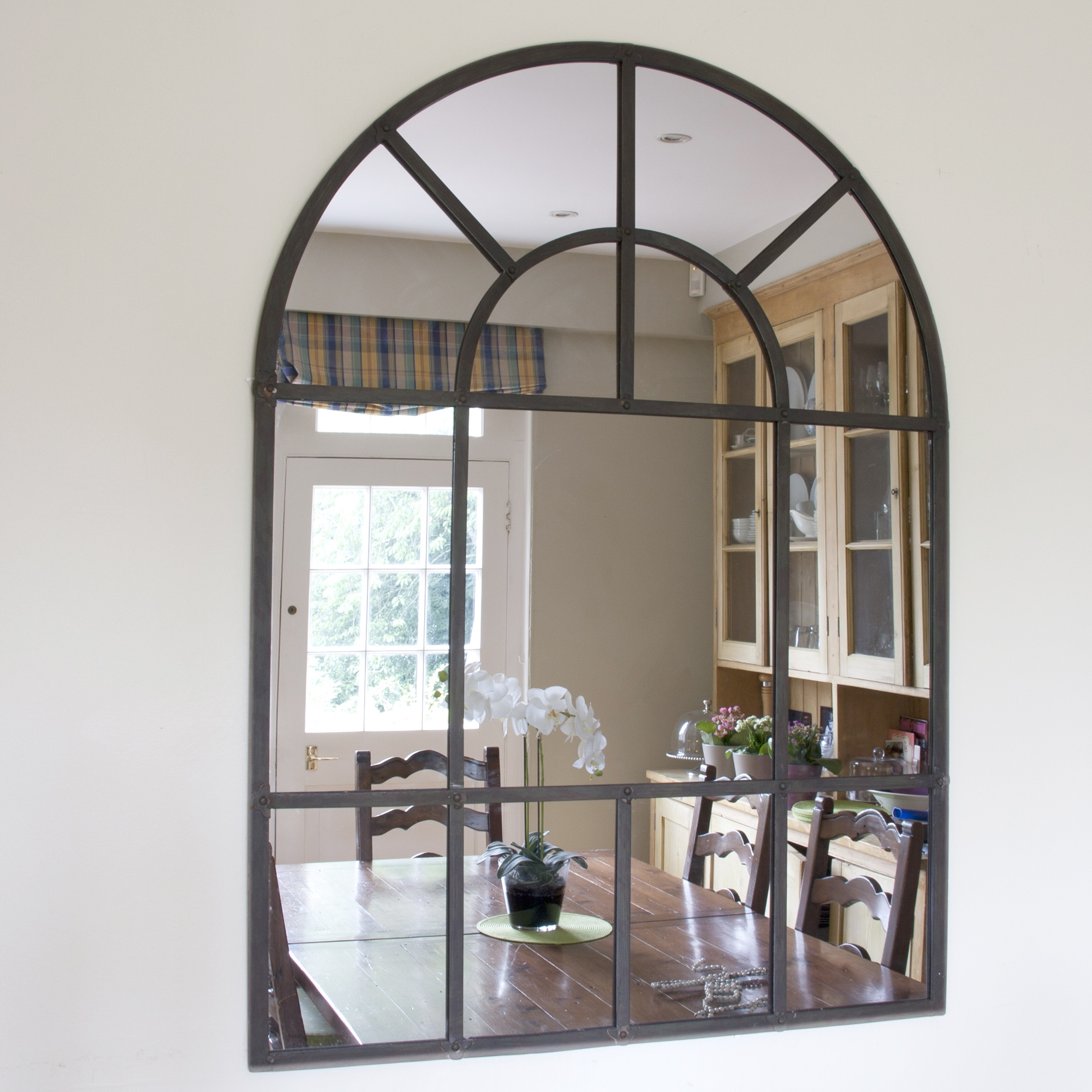 Interior Decoration Cool Arched Mirror For Interior Decor Ideas Inside Large Arched Mirrors (Image 9 of 15)