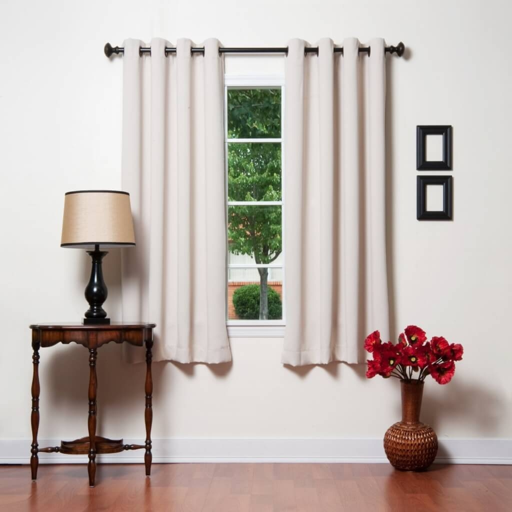 Interior Design Cheap Gray Blackout Curtain Pair Best Blackout Within Extra Long Blackout Curtains (Image 12 of 15)