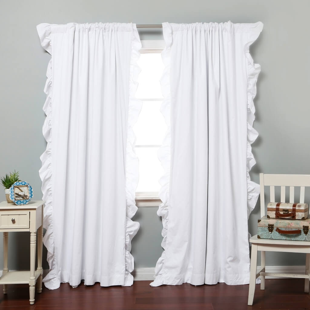 Interior Design Modern Blackout Eyelet Curtain Best Blackout Inside White Curtains With Blackout Lining (Image 7 of 15)