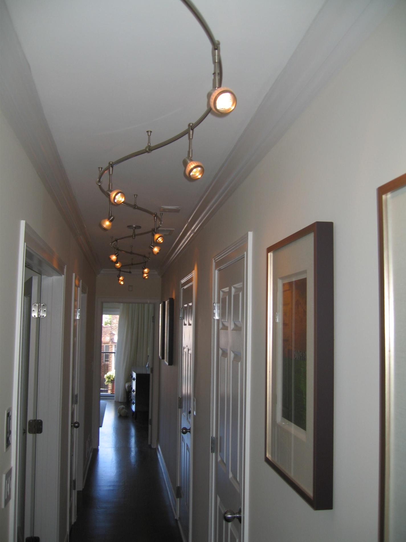 Interior Foyer Light With Black Copper Glass Lantern Chandelier Intended For Small Hallway Chandeliers (Image 10 of 15)
