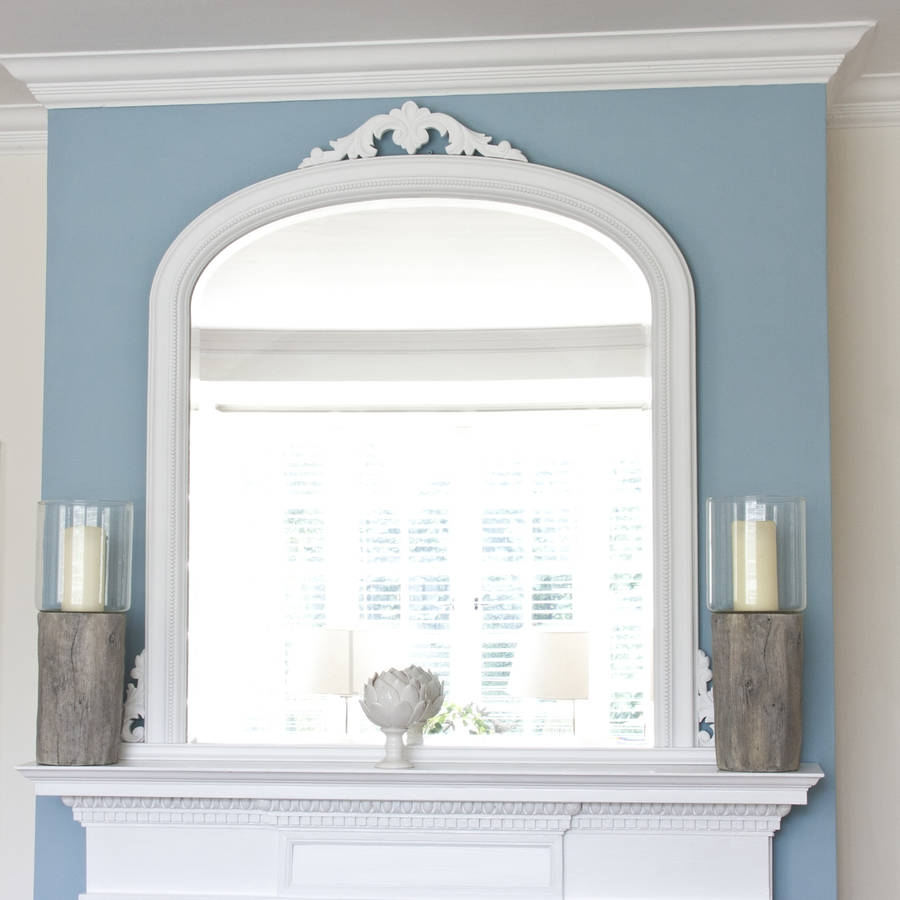 Isabella Overmantel Mirror Decorative Mirrors Online Throughout Overmantel Mirror (Image 4 of 15)