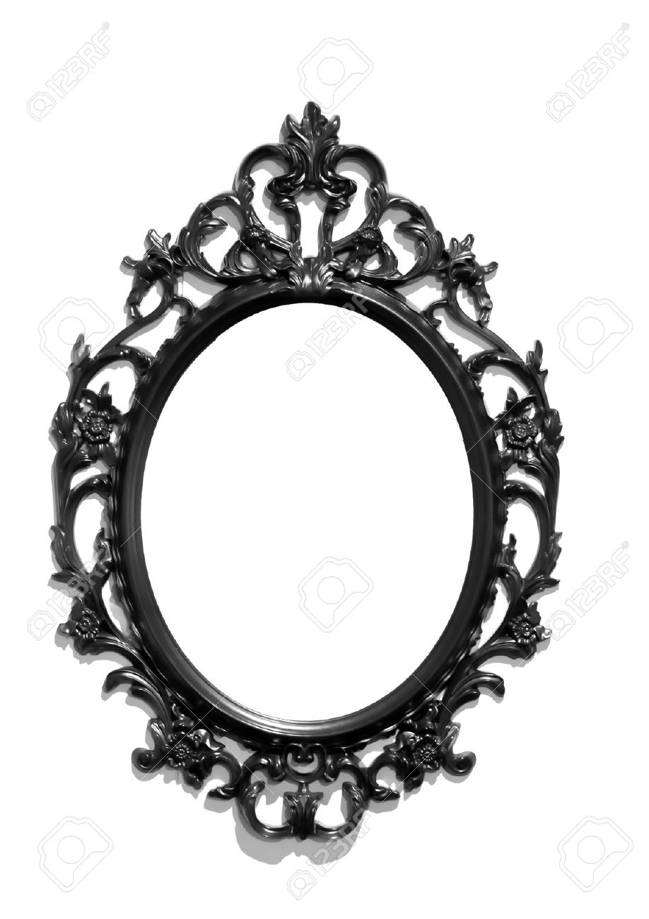 Featured Image of Black Victorian Style Mirror