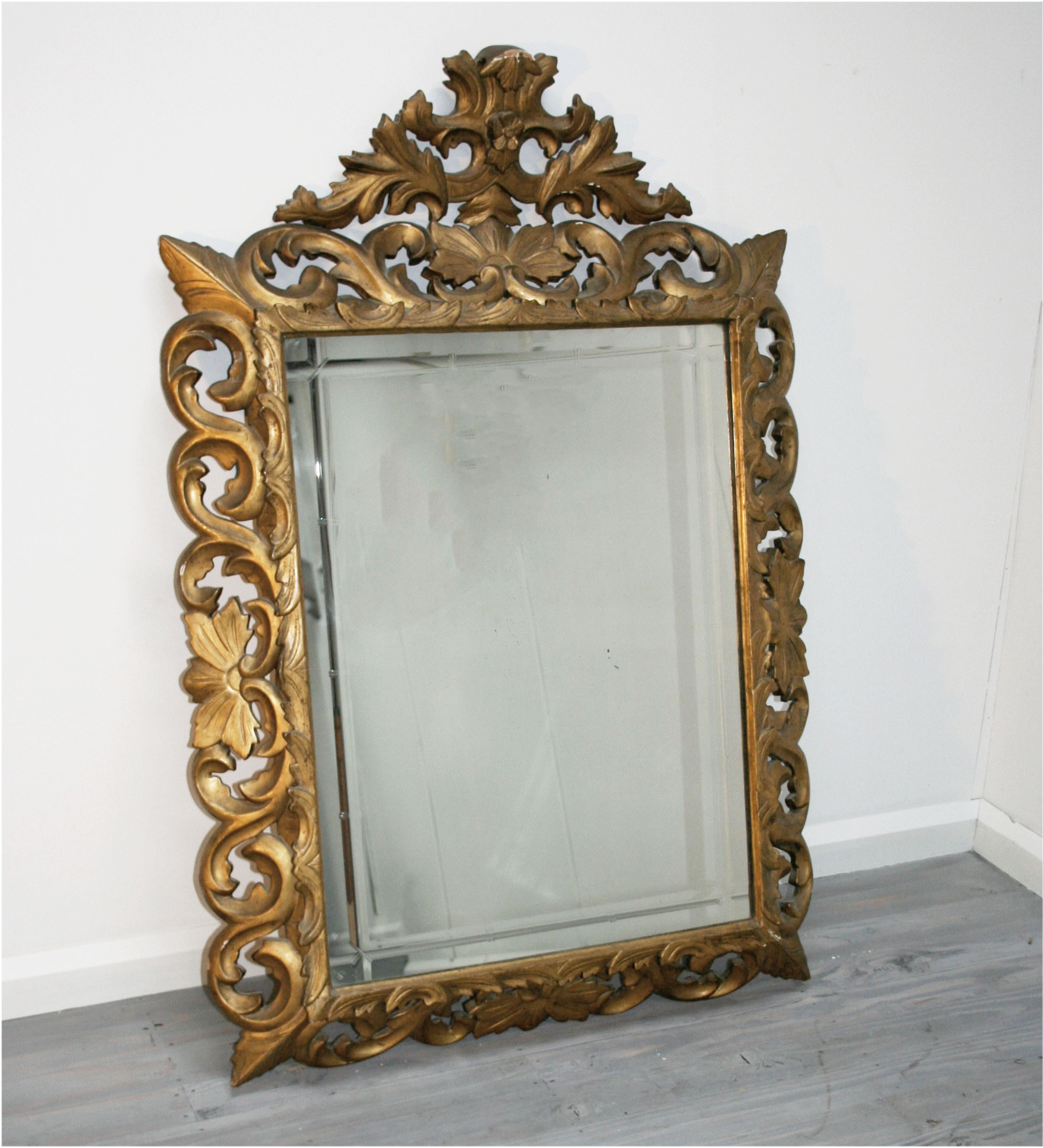 Italian Baroque Gilt Mirror Haunt Antiques For The Modern Interior With Regard To Modern Baroque Mirror (Image 10 of 15)
