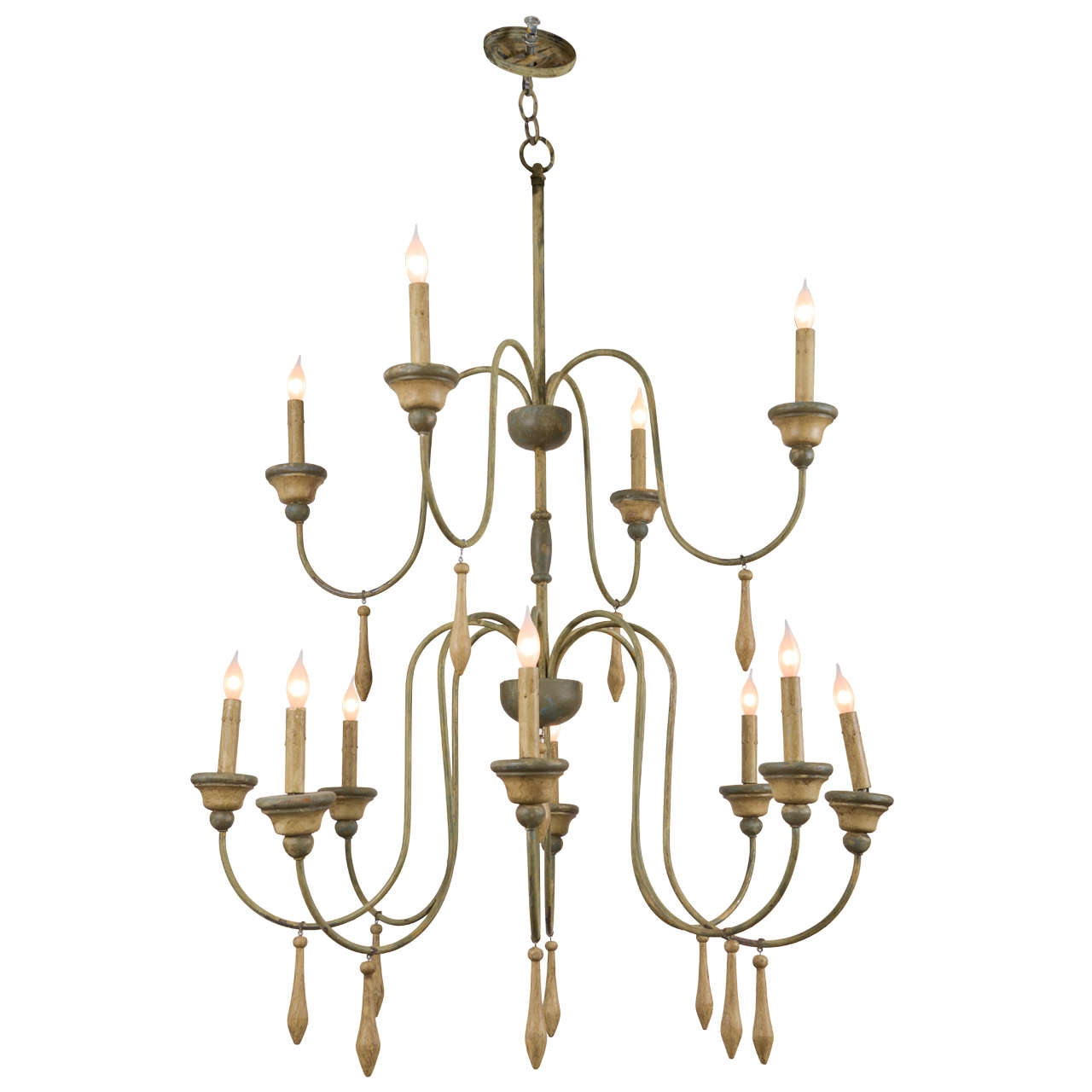Featured Image of Vintage Italian Chandeliers