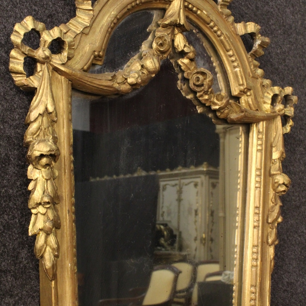 Italian Gilt Mirrors Set Of 2 For Sale At Pamono Within Gilt Mirrors (Image 9 of 15)