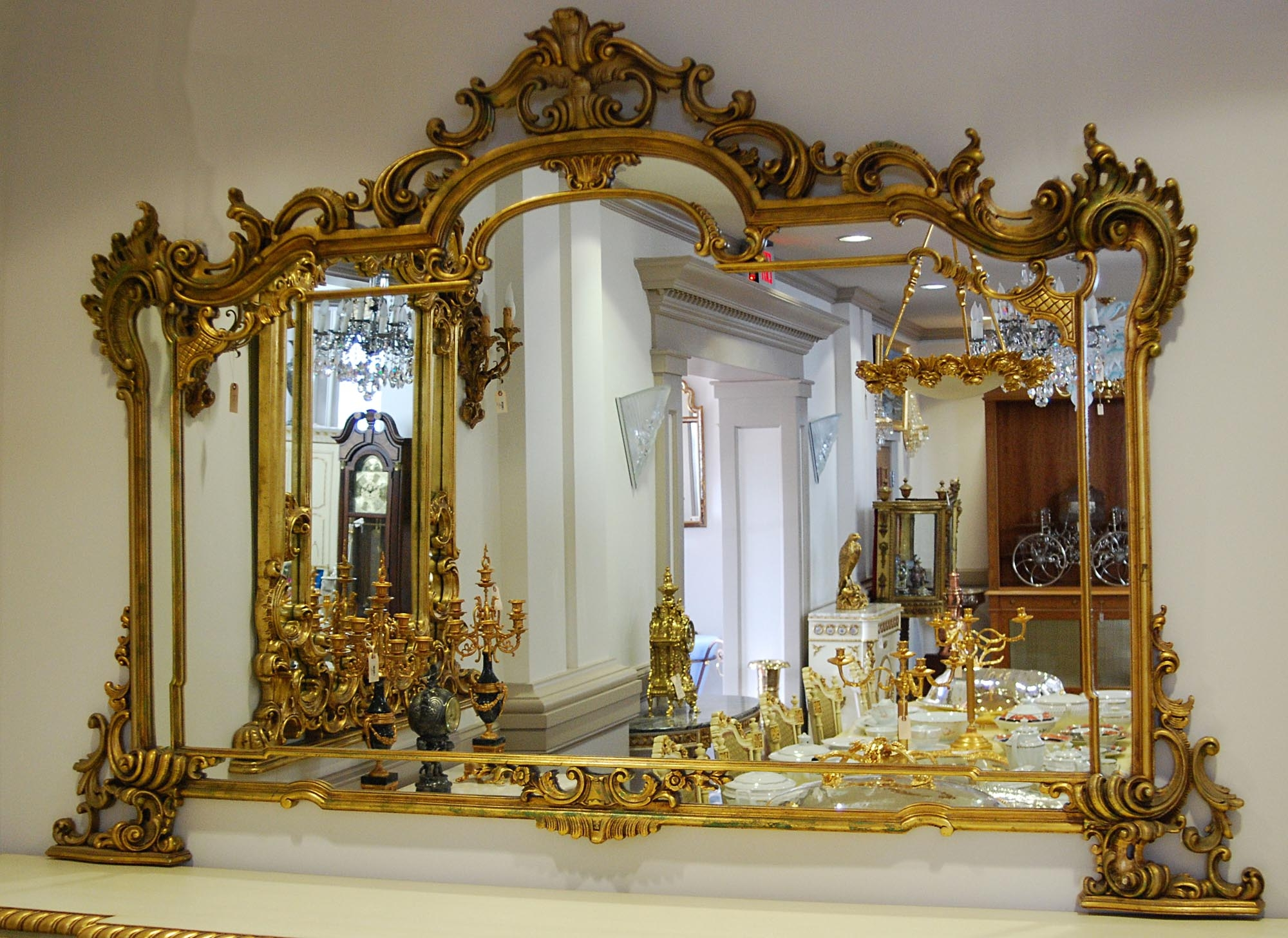 Italian Rococo Mirror Stuff To Buy Pinterest Rococo And Exterior In Rococo Wall Mirror (Image 5 of 15)