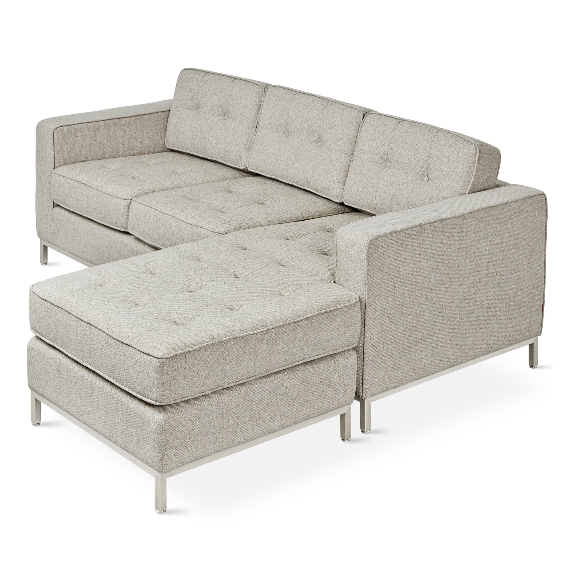 Jane Loft Bi Sectional Reviews Allmodern Throughout Bisectional Sofa (Photo 13 of 15)