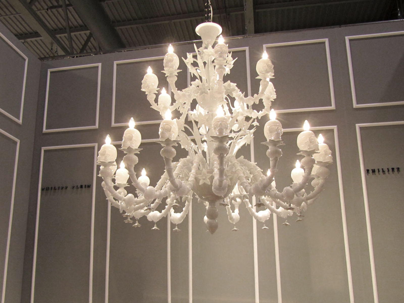 January 2012 A Mere Life Throughout Murano Chandelier Replica (Photo 9 of 15)