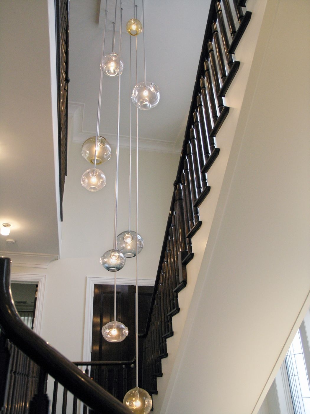 Jgooddesign Aqua Chandelier Within Stairwell Chandeliers (Image 8 of 15)