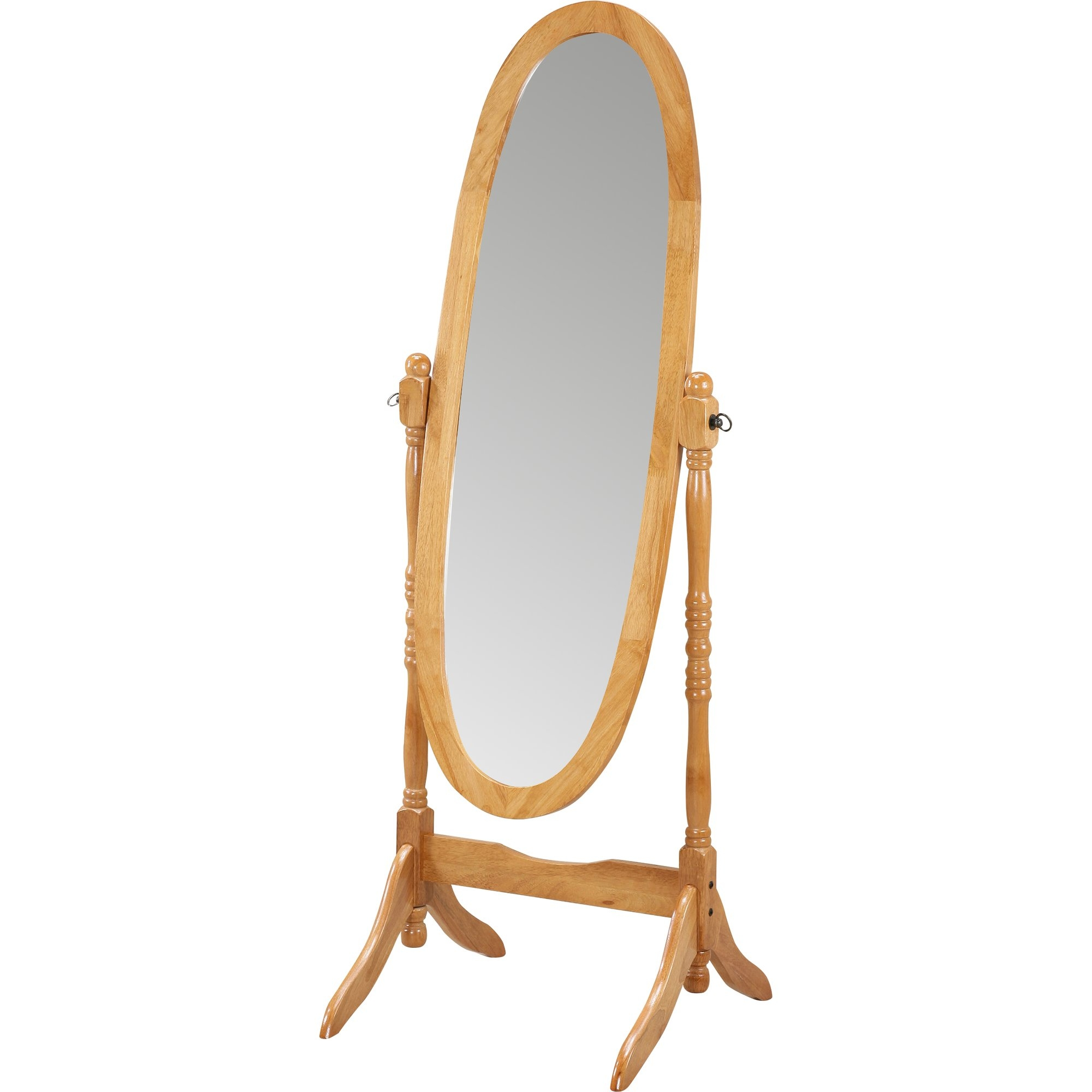 Jocelyn Oval Floor Mirror Reviews Joss Main In Cheval Freestanding Mirror (Image 13 of 15)