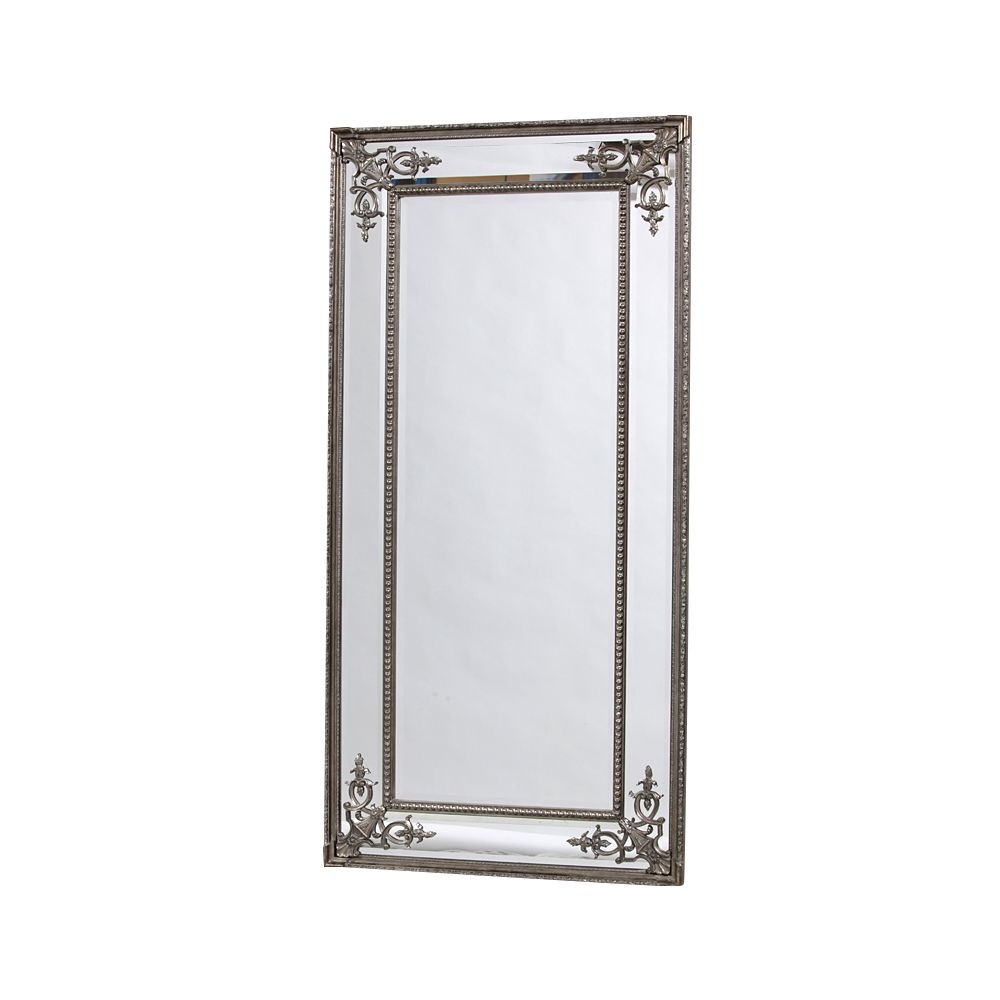 Josephine Tall Silver Mirror For Tall Silver Mirror (Image 8 of 15)
