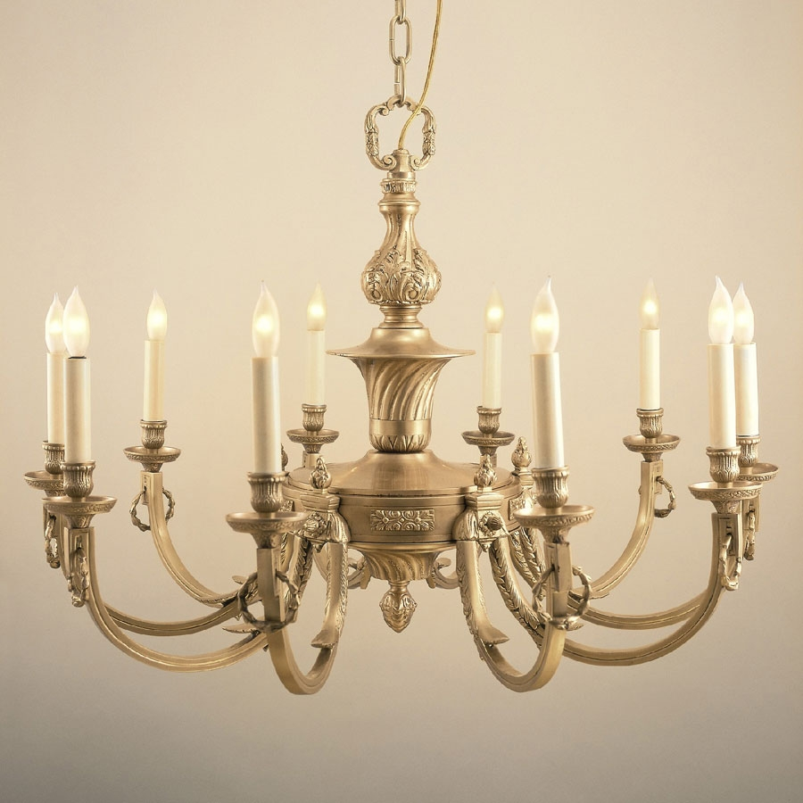 Jvi Designs 570 Traditional 32 Inch Diameter 10 Candle Antique Regarding Traditional Brass Chandeliers (Image 11 of 15)