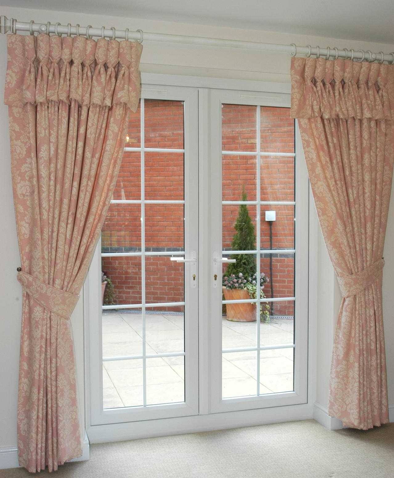 Keep House Safe And Beautiful With Front Door Curtains Majestic Intended For Main Door Curtains (Image 10 of 15)