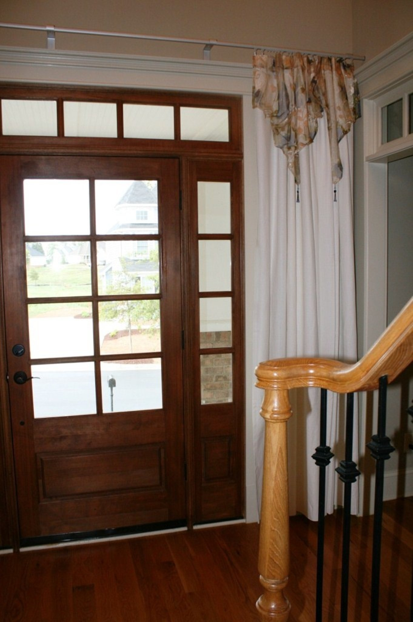 Keep House Safe And Beautiful With Front Door Curtains Majestic With Main Door Curtains (Image 11 of 15)