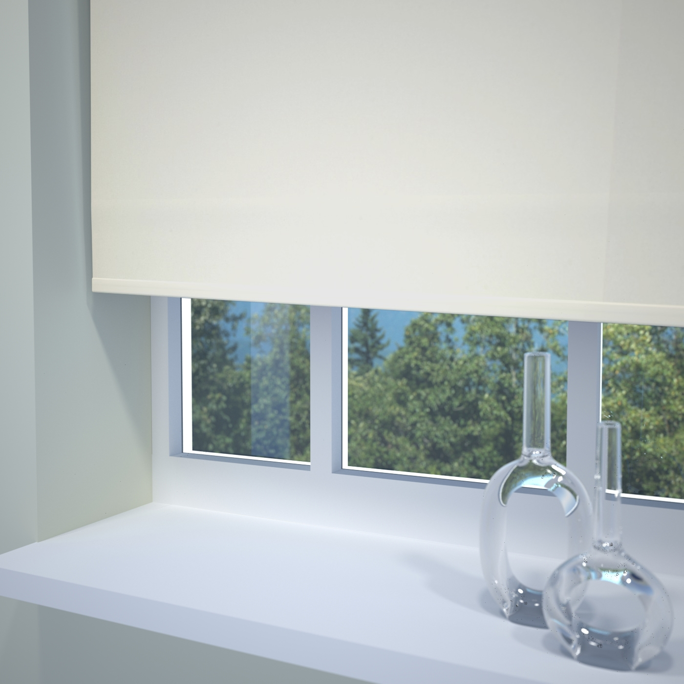 Kensington Paper Blinds Made To Measure Roller Blinds Blinds Hut Pertaining To Plain Roller Blinds (Image 3 of 15)