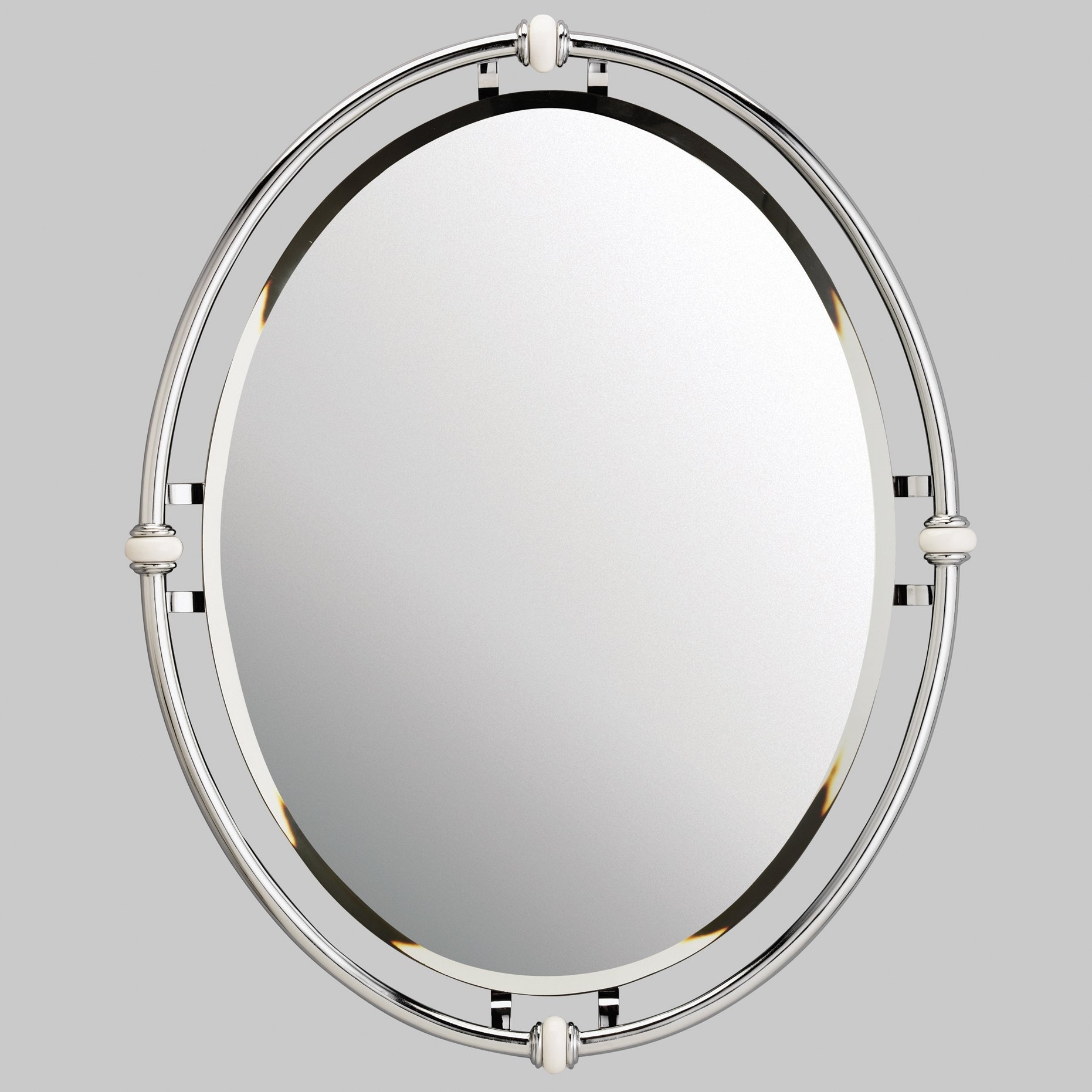 Kichler Oval Beveled Mirror Reviews Wayfair For Oval Bevelled Mirror (View 14 of 15)