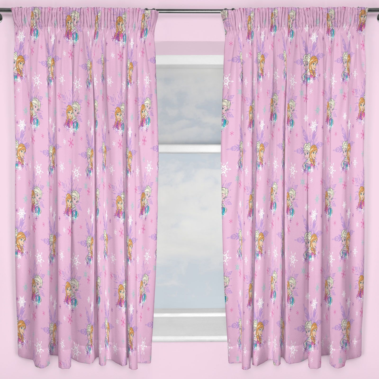 Kids Disney And Character Curtains 54 72 Inch Drop Childrens In 100 Inch Drop Curtains (Image 12 of 15)
