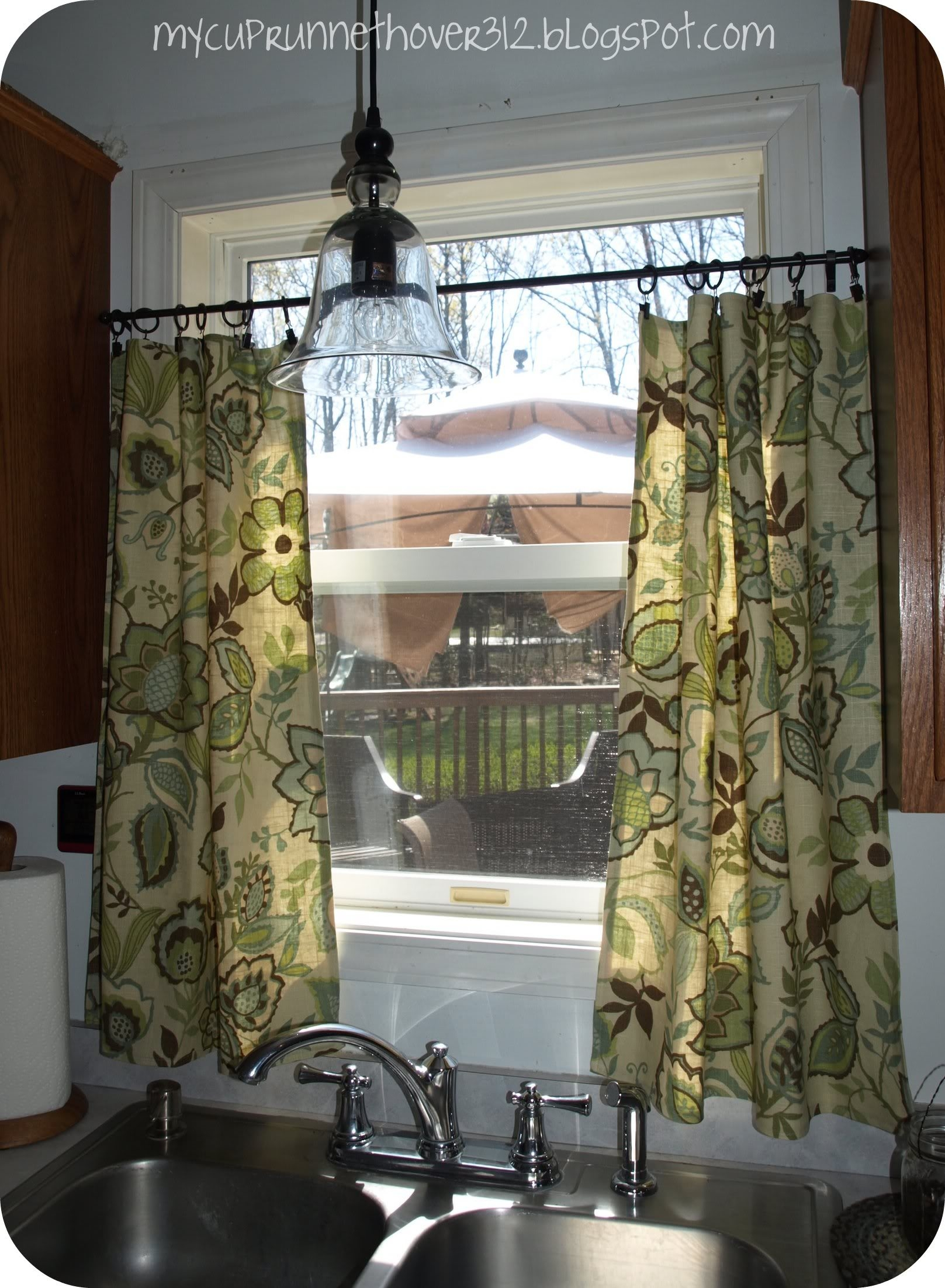 Kitchen Curtains Finally Mycuprunnethoverblog Pertaining To Kitchen Curtains And Blinds (Image 8 of 15)