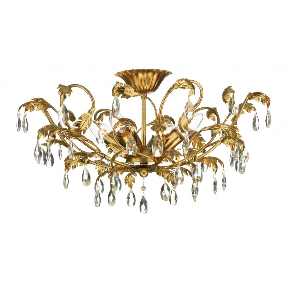 Kitchen Lighting Fixtures For Low Ceilings For Chandelier For Low Ceiling (Image 11 of 15)
