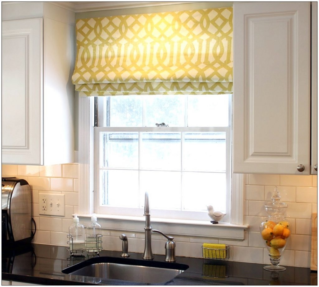 Kitchen Window Designs Cheap Kitchen Window Treatment Ideas For Kitchen Curtains And Blinds (Image 12 of 15)