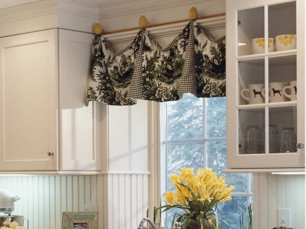 Kitchen Window Designs Cheap Kitchen Window Treatment Ideas Intended For Kitchen Curtains And Blinds (Image 13 of 15)