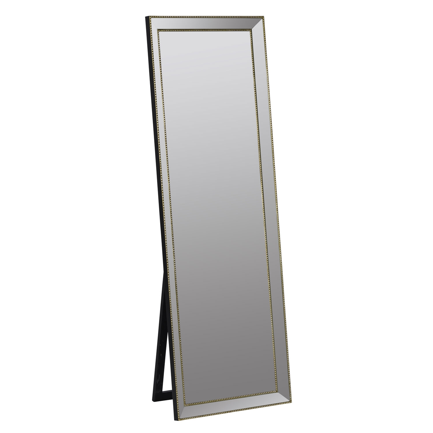 Kyson Gold Standing Mirror Cooper Classics Floor Full Size With Gold Standing Mirror (View 11 of 15)