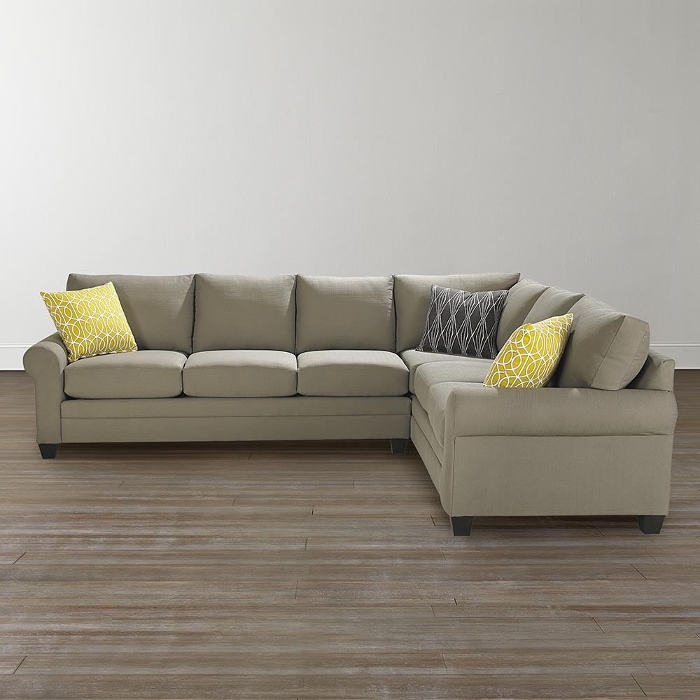 L Shaped Sectional Sofa With Bassett Sectional Sofa (Image 12 of 15)