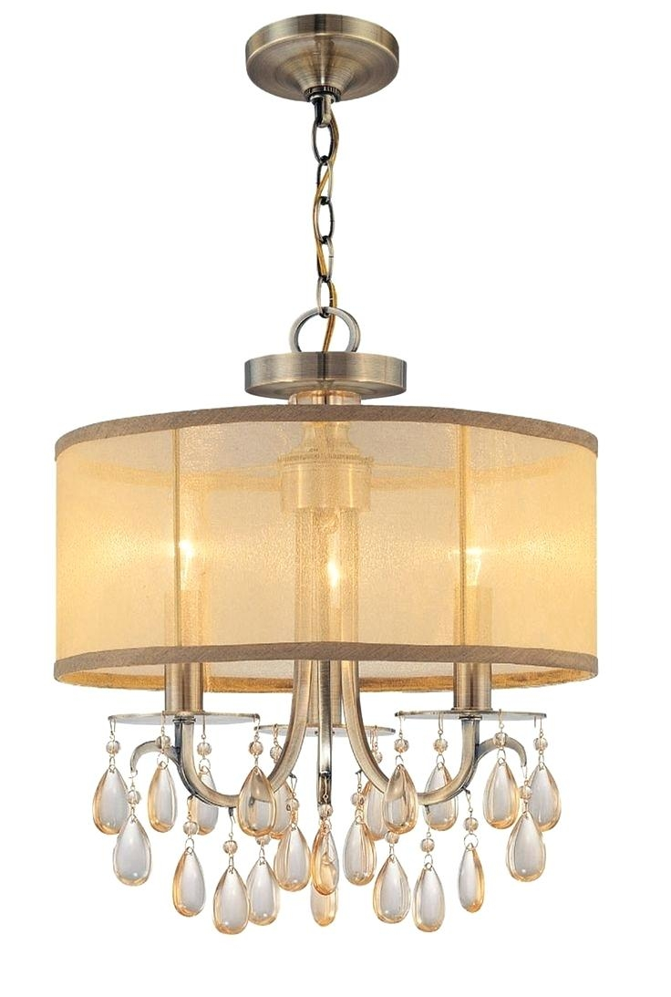 Lamp Shade Chandelier Chandelier Lighting Cascading Pendant Lights Inside French Glass Chandelier (Image 12 of 15)