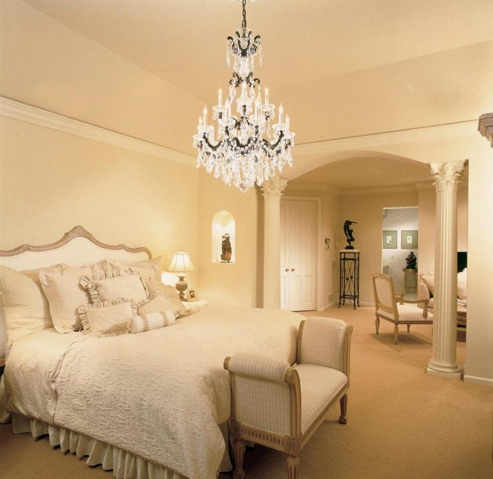 Lamps Ceiling Lights And Chandeliers Crystal Chandelier Bedroom With Bedroom Chandeliers (Image 13 of 15)