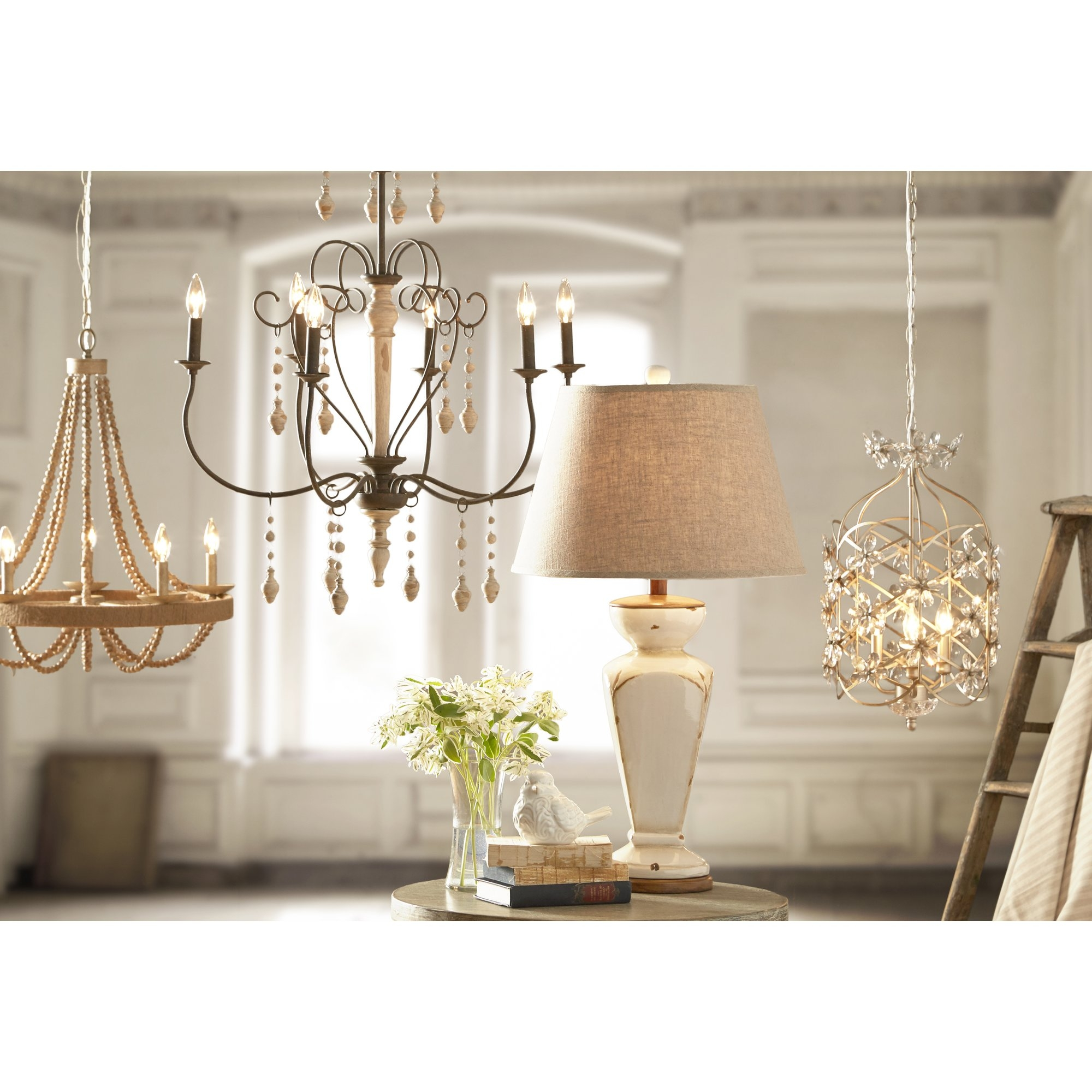 Lantieri 5 Light Candle Chandelier Reviews Joss Main In Candle Chandelier (Image 9 of 15)