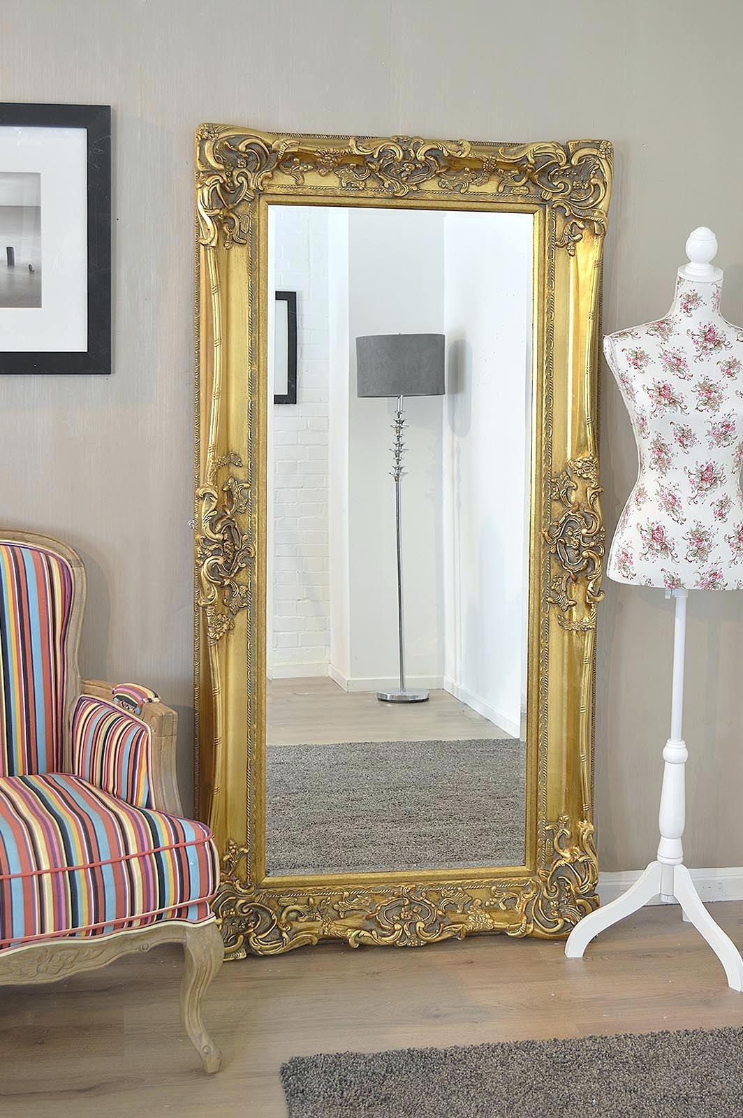Large Antique Wall Mirror Wall Mirror Ideas For Antique Gold Mirrors Large (Photo 3 of 15)