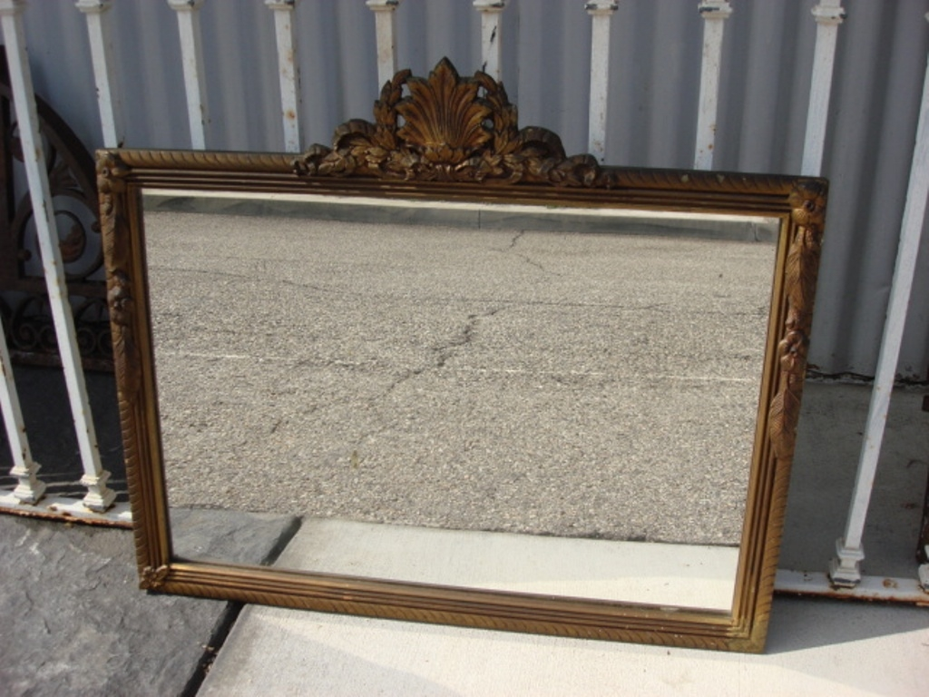 Large Antique Wall Mirrors Ornate Frame Doherty House Inside Large Antique Wall Mirror (Image 10 of 15)