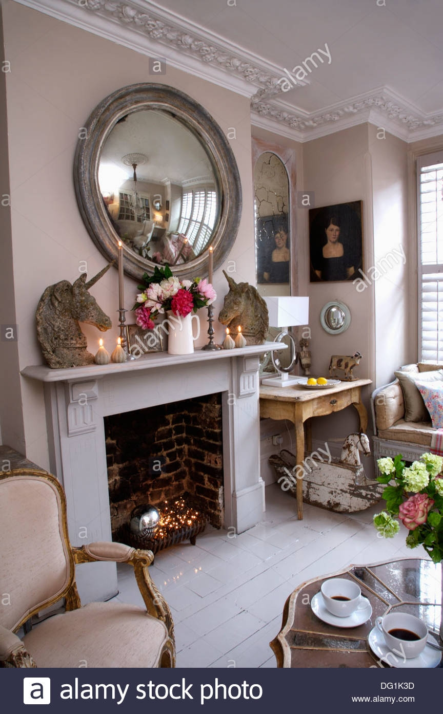 15 Collection Of Mantelpiece Mirror Mirror Ideas