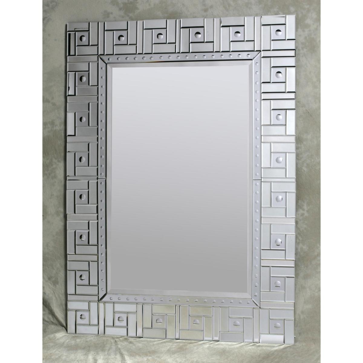 Large Clear Square Detail Venetian Mirror Nicholas John Interiors Regarding Square Venetian Mirror (View 14 of 15)