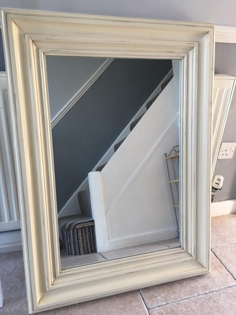 Large Cream Mirror In Carlton Nottinghamshire Gumtree Within Large Cream Mirror (Image 12 of 15)