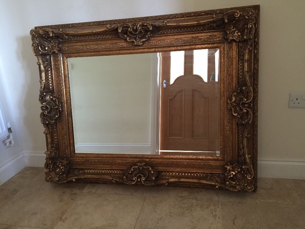 Large Decorative Mirror For Sale In Cambridge Cambridgeshire With Regard To Large Mirror Sale (Image 10 of 15)