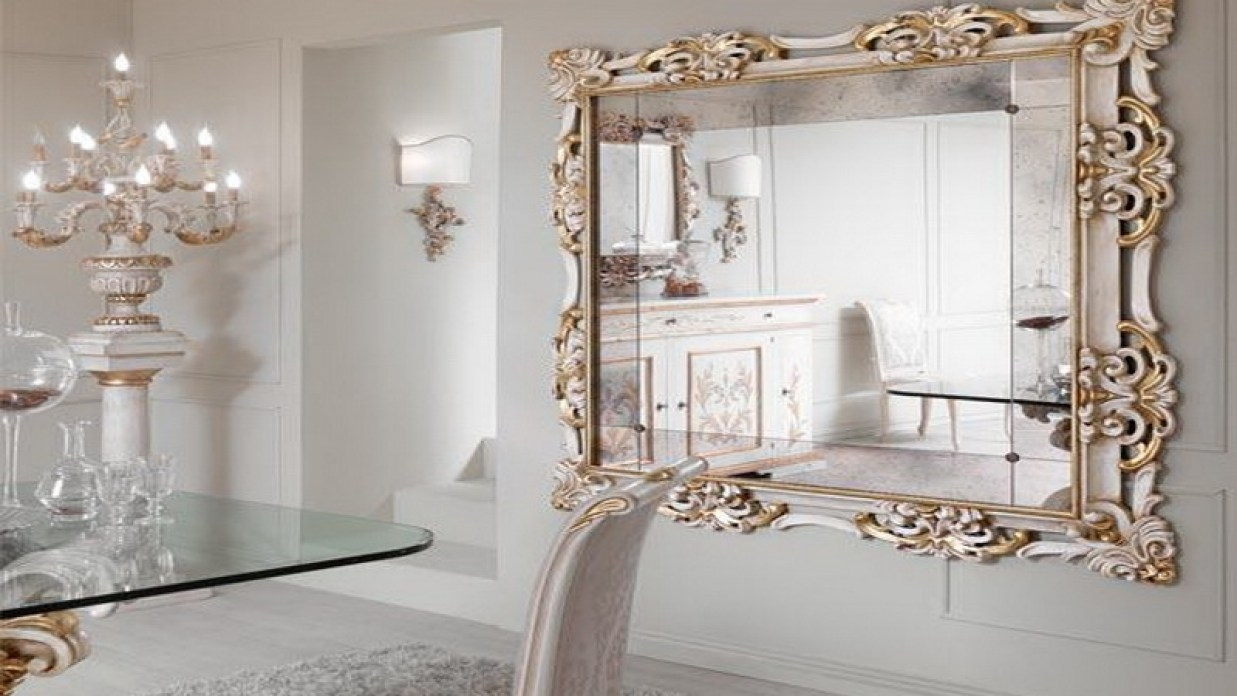 Large Decorative Mirrors For Living Room Andre Scheers Huis With Fancy Mirrors For Sale (Image 11 of 14)