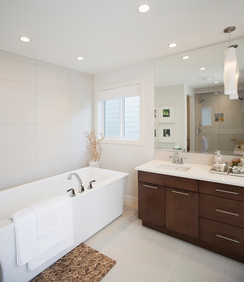 Large Frameless Bathroom Mirror Trends And Mirrors For Framed For Large Frameless Bathroom Mirror (View 3 of 15)