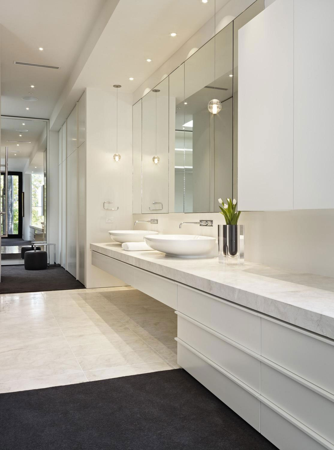 Large Frameless Bathroom Mirror Trends And Mirrors For Framed Intended For Frameless Large Mirrors (Image 7 of 15)