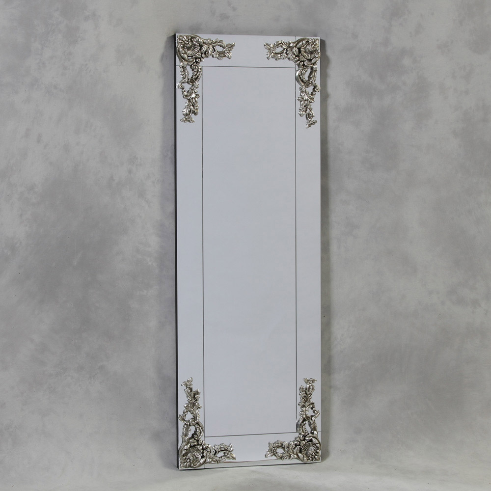 Large Frameless Wall Mirrors Uk Creative Bathroom Decoration Throughout Slim Wall Mirror (Image 5 of 15)