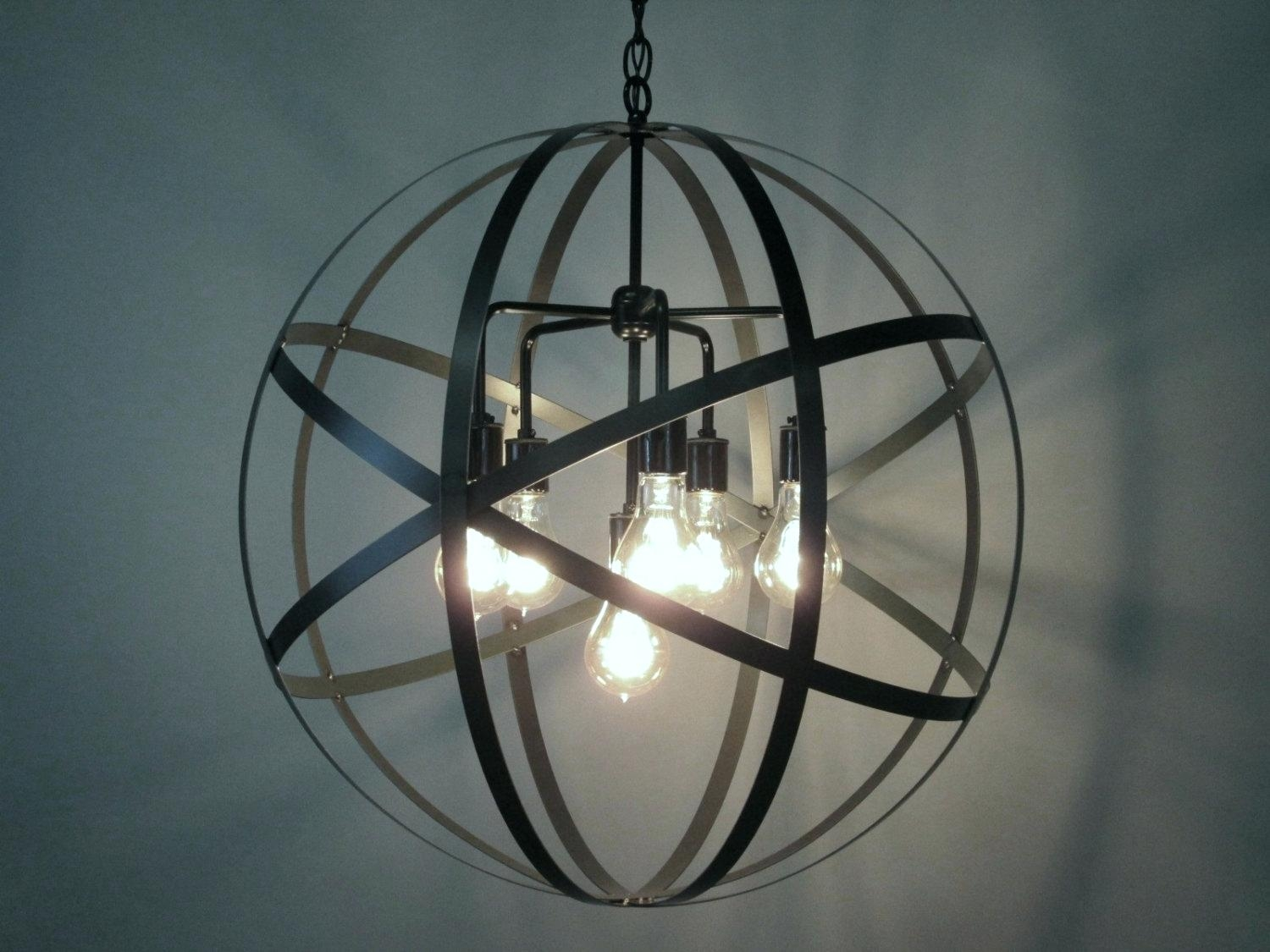Large Globe Chandelier Engageri With Regard To Large Globe Chandelier (Image 12 of 15)